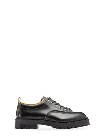 Marni Calfskin lace-up with contrasting lining Man