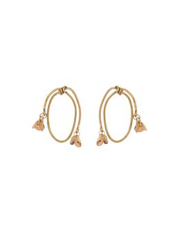 Marni Screw back earrings in gold metal Woman