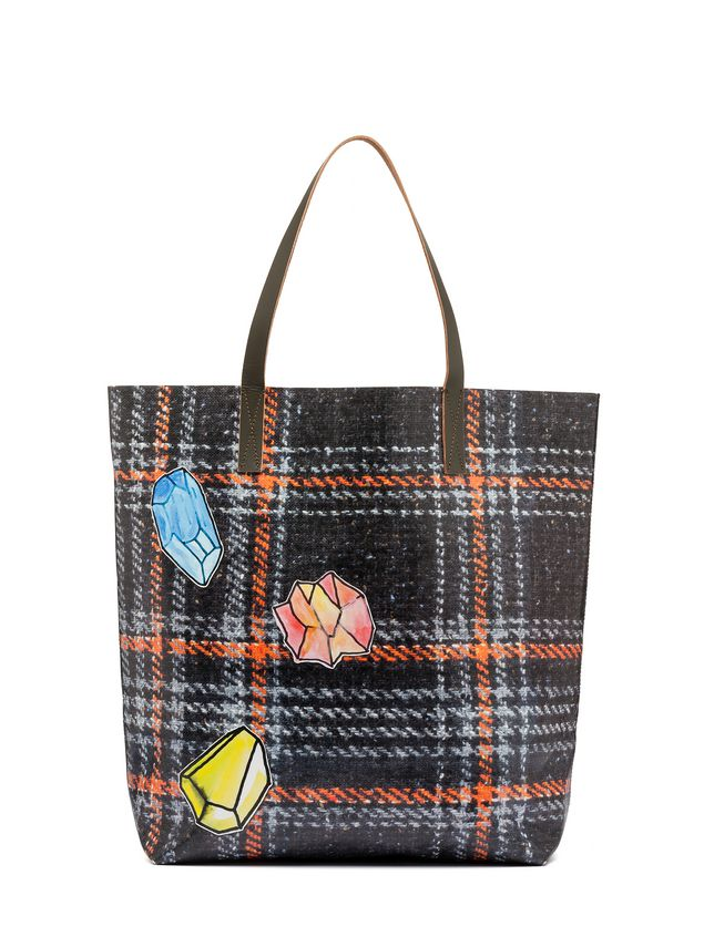 Marni Tote bag in PVC with alchemy print by Frank Navin Man - 3
