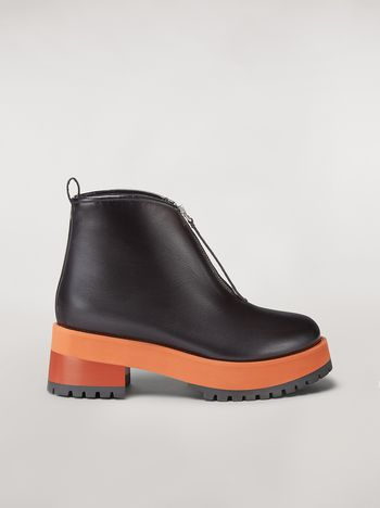 Marni Ankle boot in calfskin Woman f