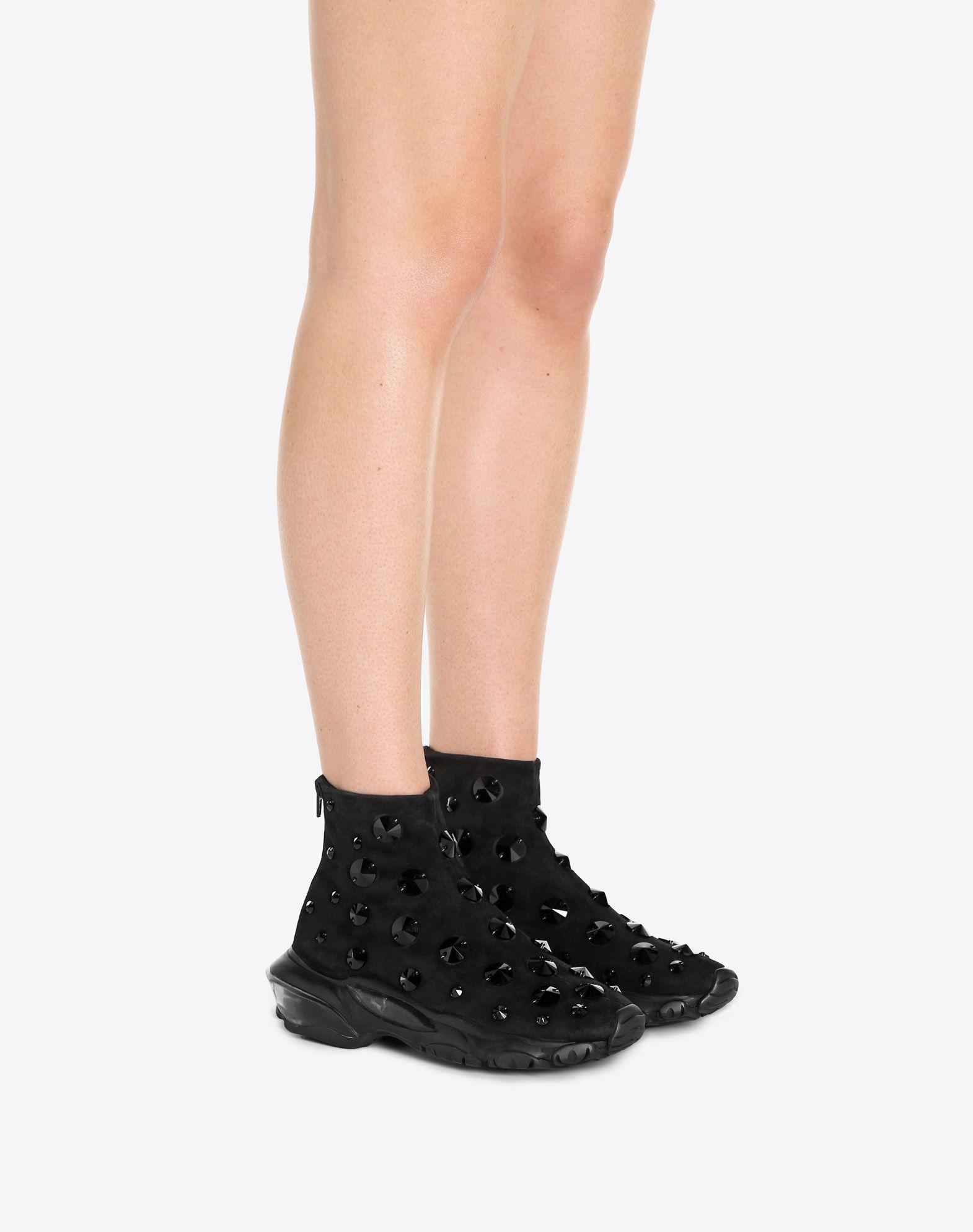 VALENTINO GARAVANI Bounce Sneaker HIGH-TOP SNEAKER D a