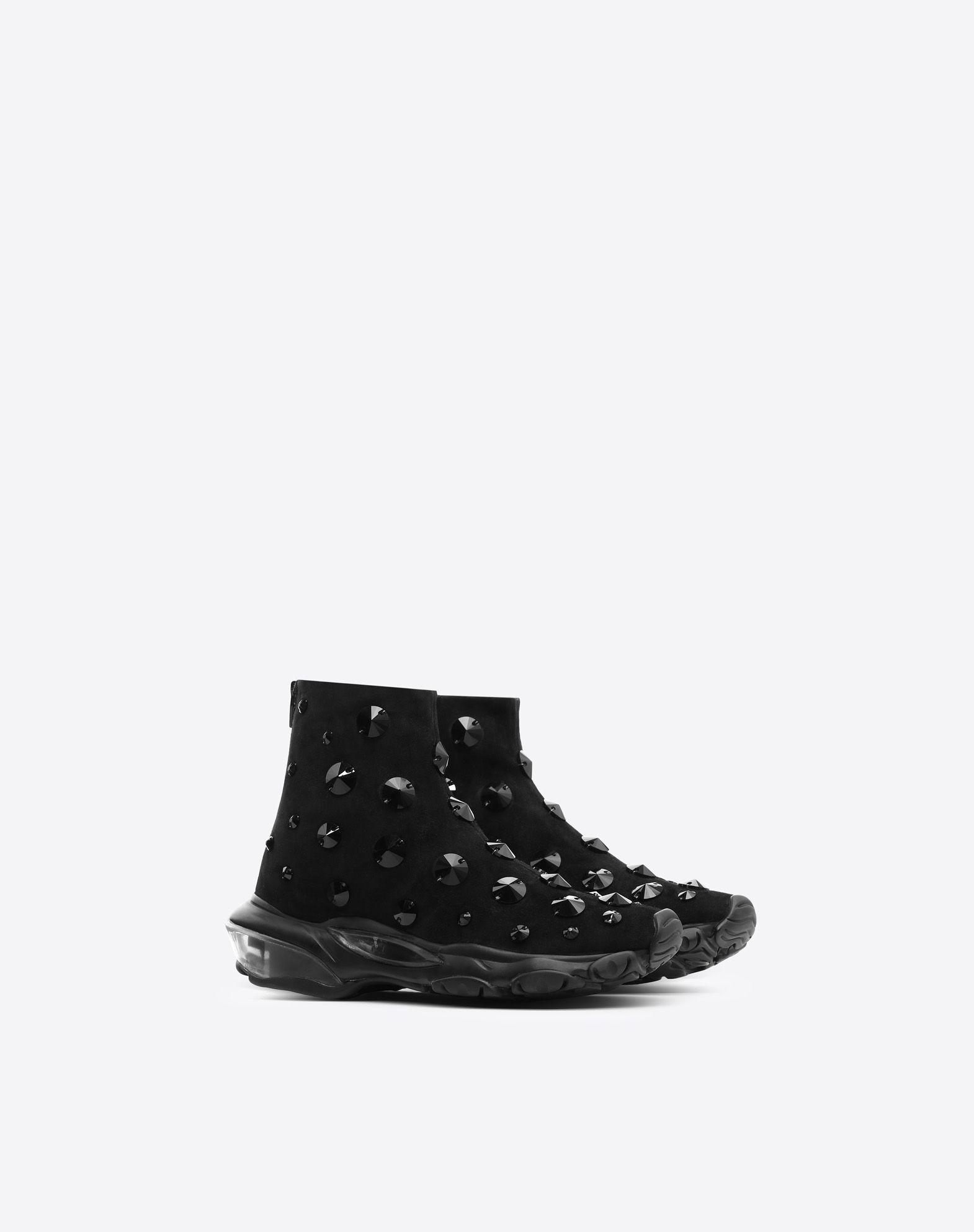 VALENTINO GARAVANI Bounce Sneaker HIGH-TOP SNEAKER D r
