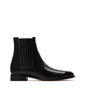 Чёрные ботинки челси