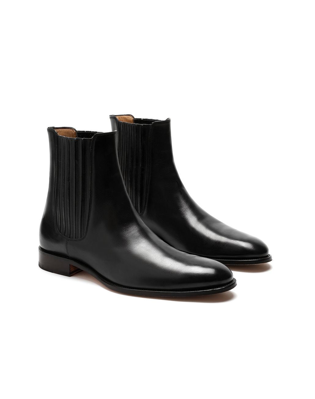 BRIONI Black Chelsea Boot Formal shoes Man d