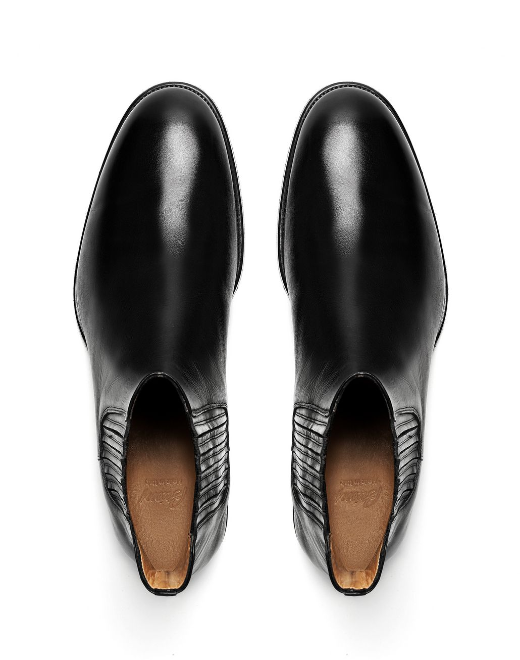 BRIONI Black Chelsea Boot Formal shoes Man r