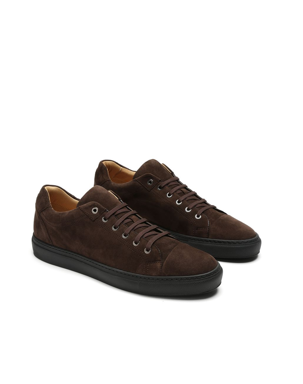 BRIONI Brown Sneakers Sneakers Man d