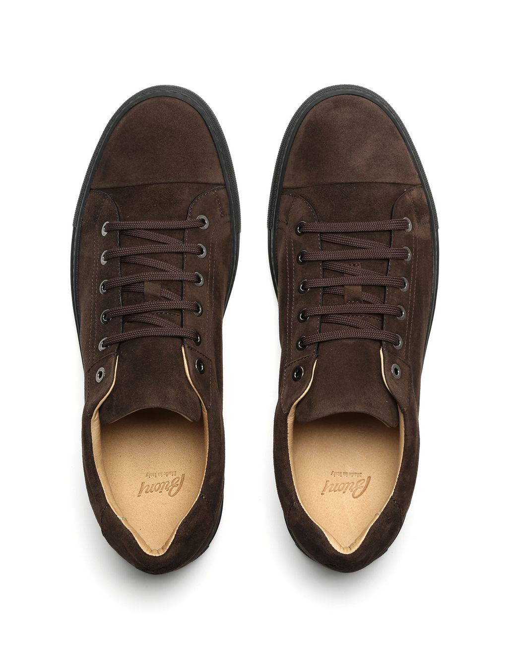 BRIONI Brown Sneakers Sneakers Man r