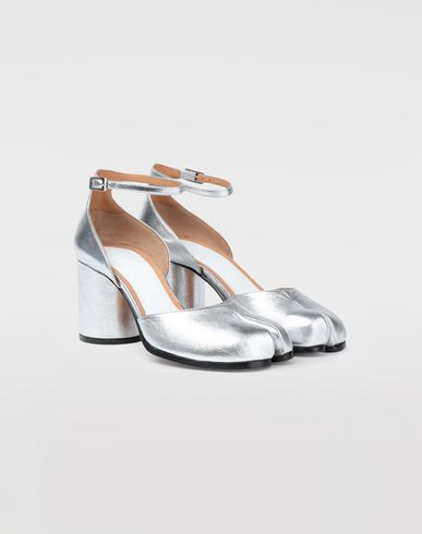 SHOES Silver Tabi sandals