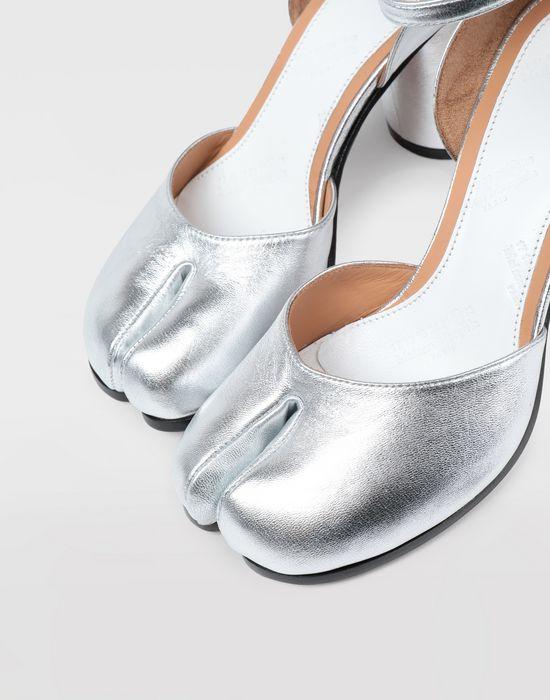 MAISON MARGIELA Silver Tabi sandals Tabi pumps [*** pickupInStoreShipping_info ***] a