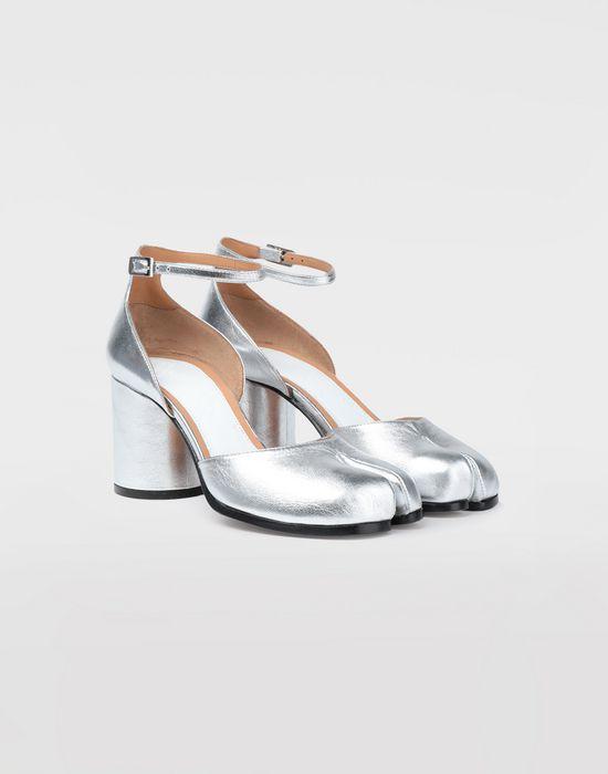 MAISON MARGIELA Silver Tabi sandals Tabi pumps [*** pickupInStoreShipping_info ***] d