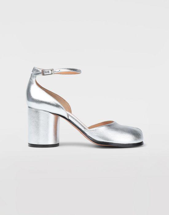 MAISON MARGIELA Silver Tabi sandals Tabi pumps [*** pickupInStoreShipping_info ***] f