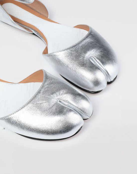 MAISON MARGIELA Silver Tabi ballet flats Tabi ballet flats [*** pickupInStoreShipping_info ***] a