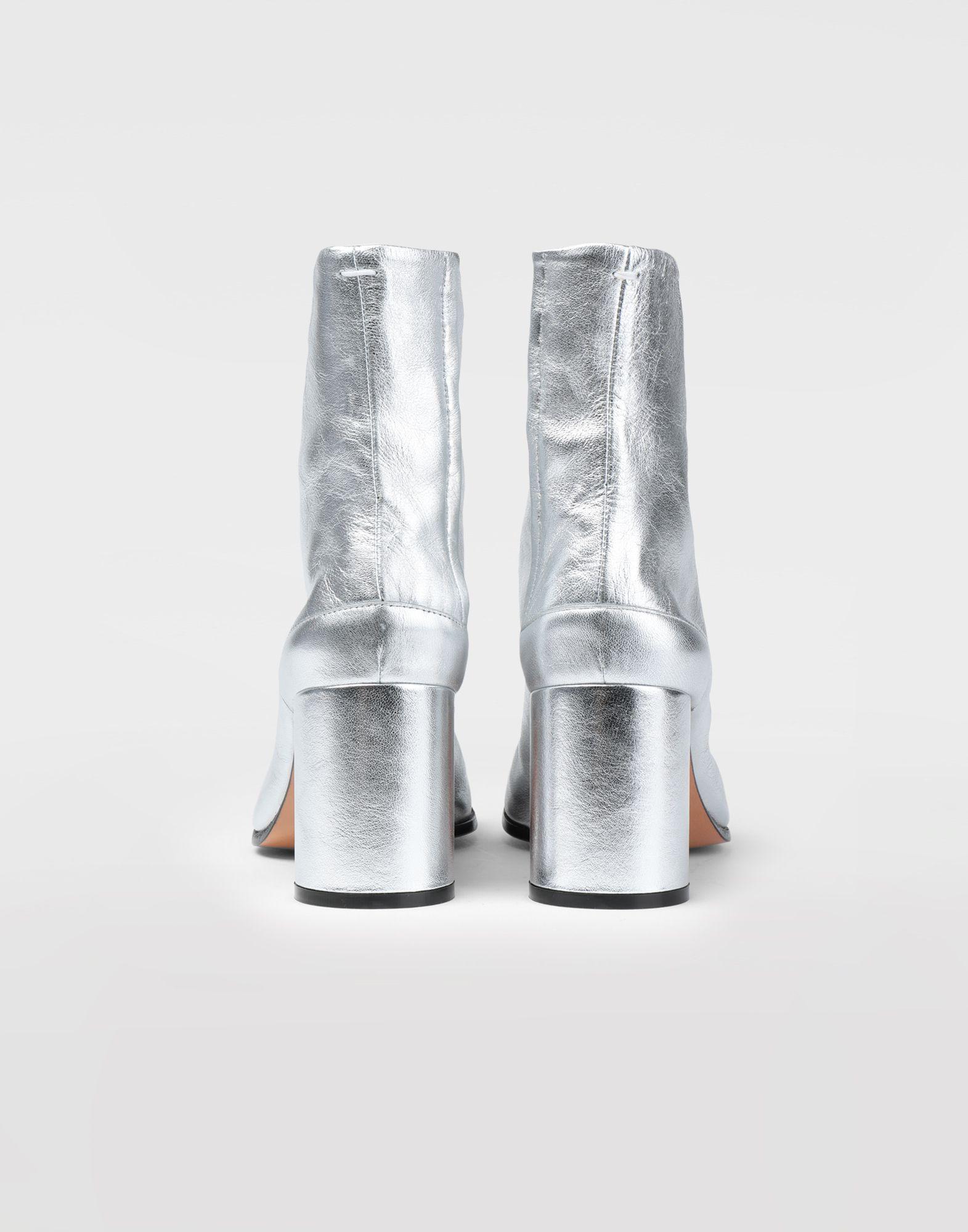 MAISON MARGIELA Silver Tabi boots Tabi boots Woman e