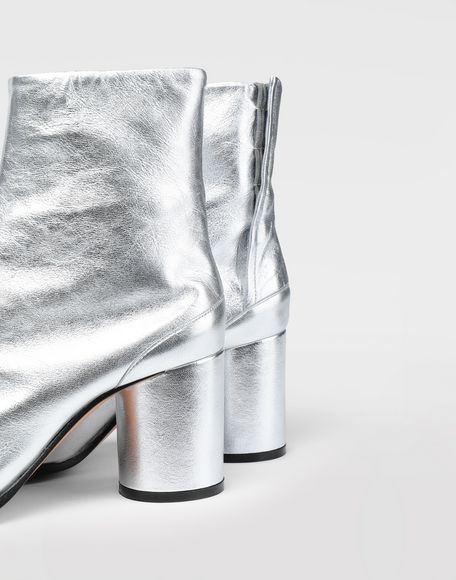 MAISON MARGIELA Silver Tabi boots Tabi boots Woman b