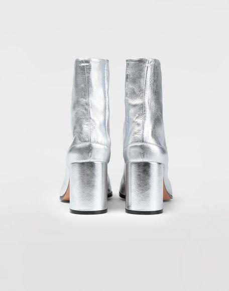 MAISON MARGIELA Silver Tabi boots Tabi boots & Ankle boots Woman e
