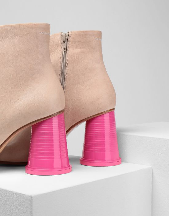 MM6 MAISON MARGIELA Ankle boots with cup heels Ankle boots [*** pickupInStoreShipping_info ***] e