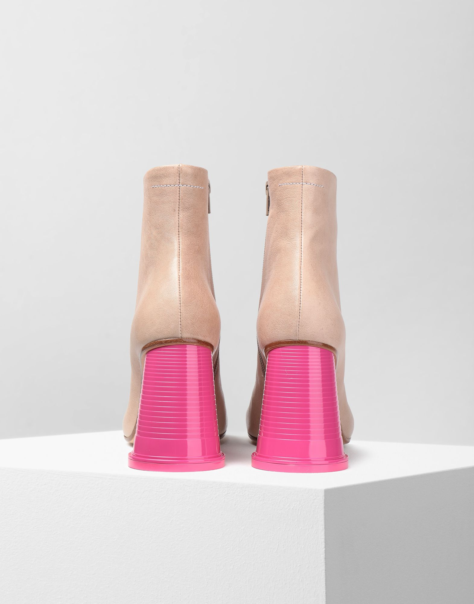 MM6 MAISON MARGIELA Ankle boots with cup heels Ankle boots Woman d