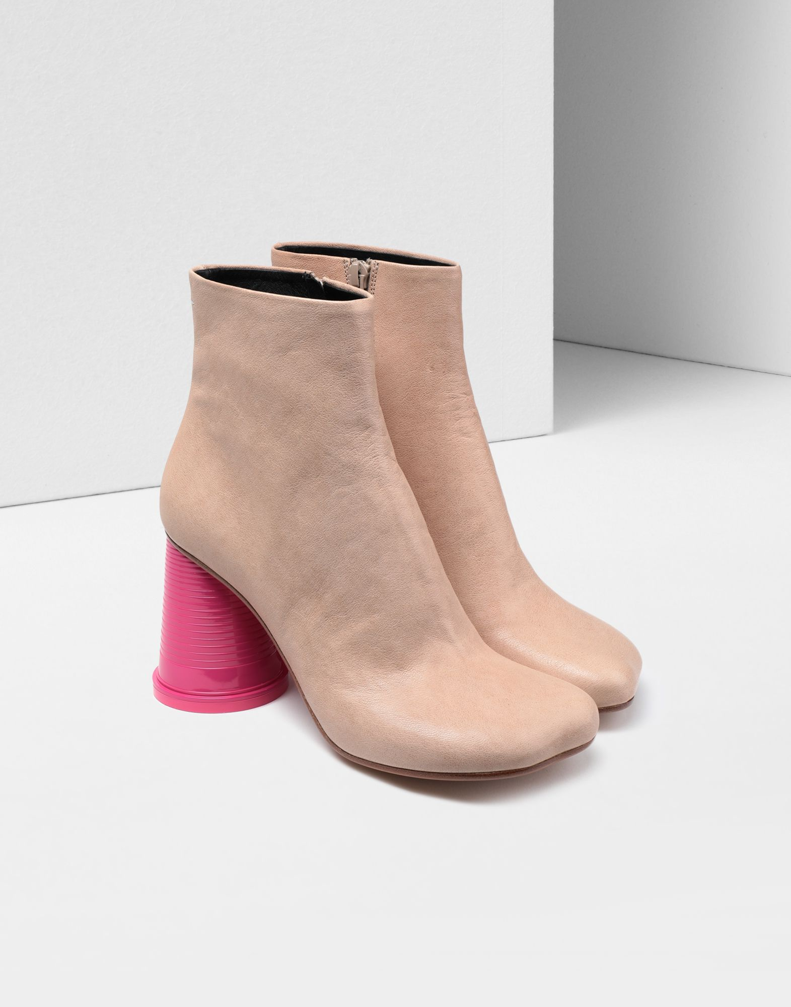 MM6 MAISON MARGIELA Ankle boots with cup heels Ankle boots Woman r