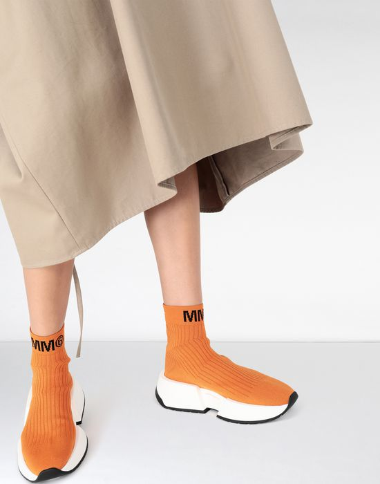 MM6 MAISON MARGIELA Flare sock sneakers Sneakers [*** pickupInStoreShipping_info ***] b