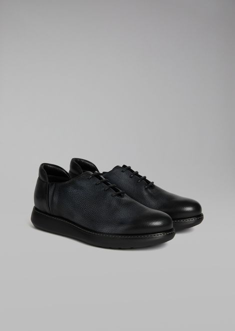 Delavé elk leather lace-up