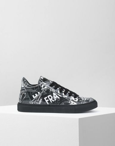 MM6 MAISON MARGIELA スニーカー レディース Fragile print sneakers f