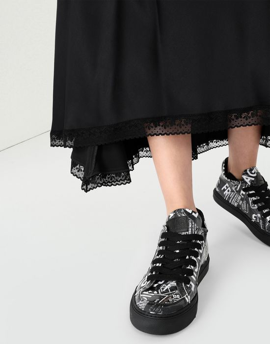 MM6 MAISON MARGIELA Fragile print sneakers Sneakers [*** pickupInStoreShipping_info ***] b