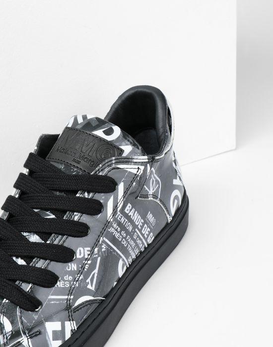 MM6 MAISON MARGIELA Fragile print sneakers Sneakers [*** pickupInStoreShipping_info ***] e