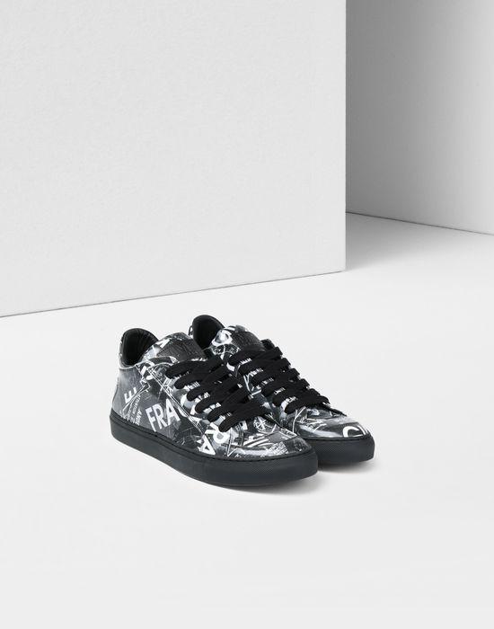 MM6 MAISON MARGIELA Fragile print sneakers Sneakers [*** pickupInStoreShipping_info ***] r