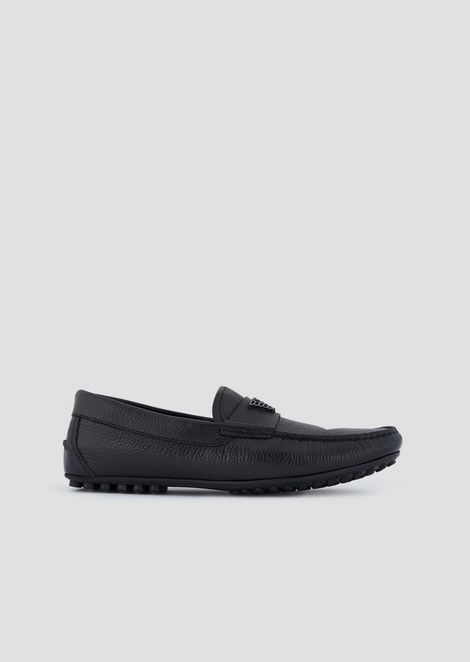 Driver moccasins in Carioca leather
