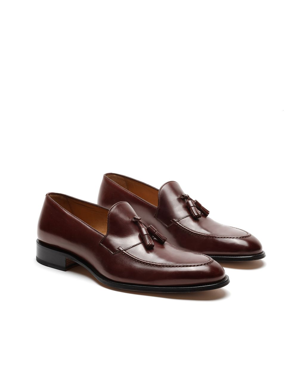 BRIONI Brown Tassel Loafer Loafers Man d