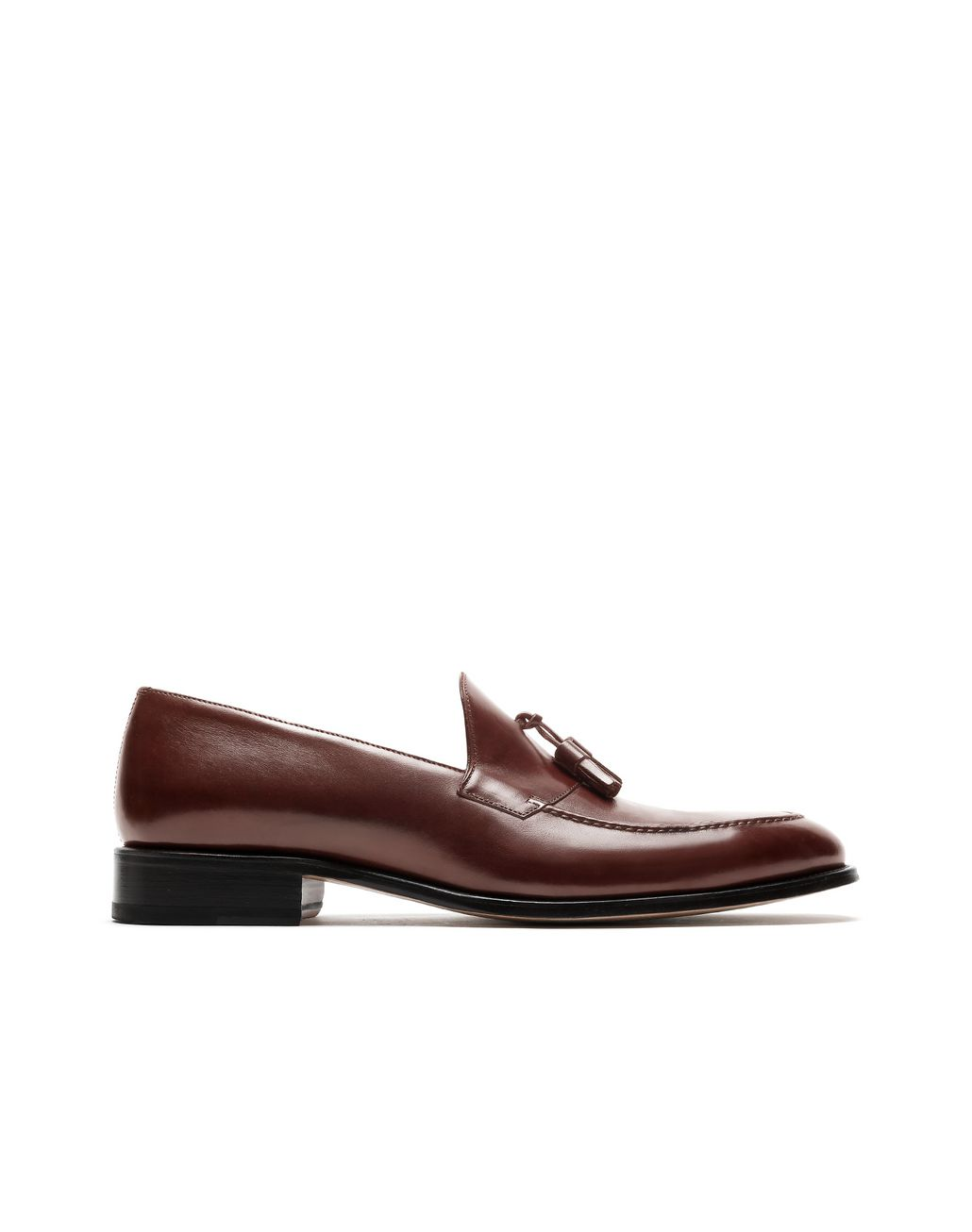 BRIONI Brown Tassel Loafer Loafers Man f
