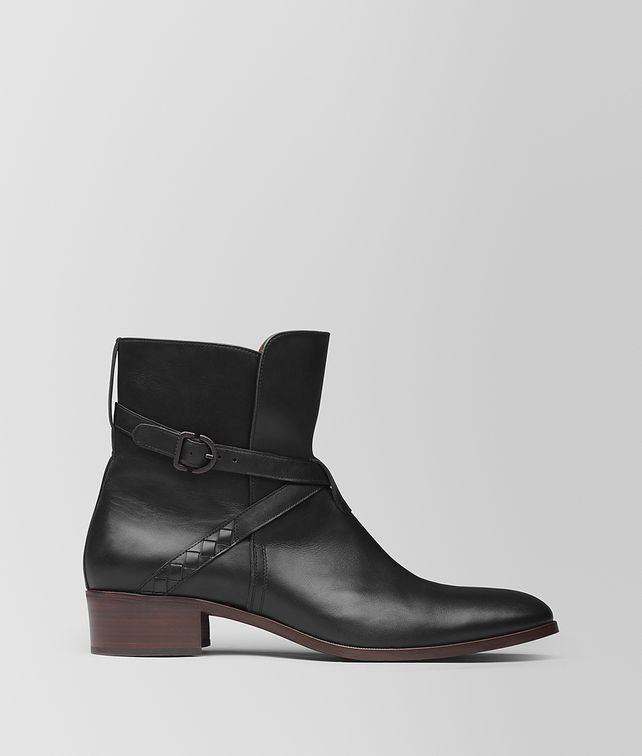 BOTTEGA VENETA NERO CALF ANKLE BOOT Boots and ankle boots Man fp