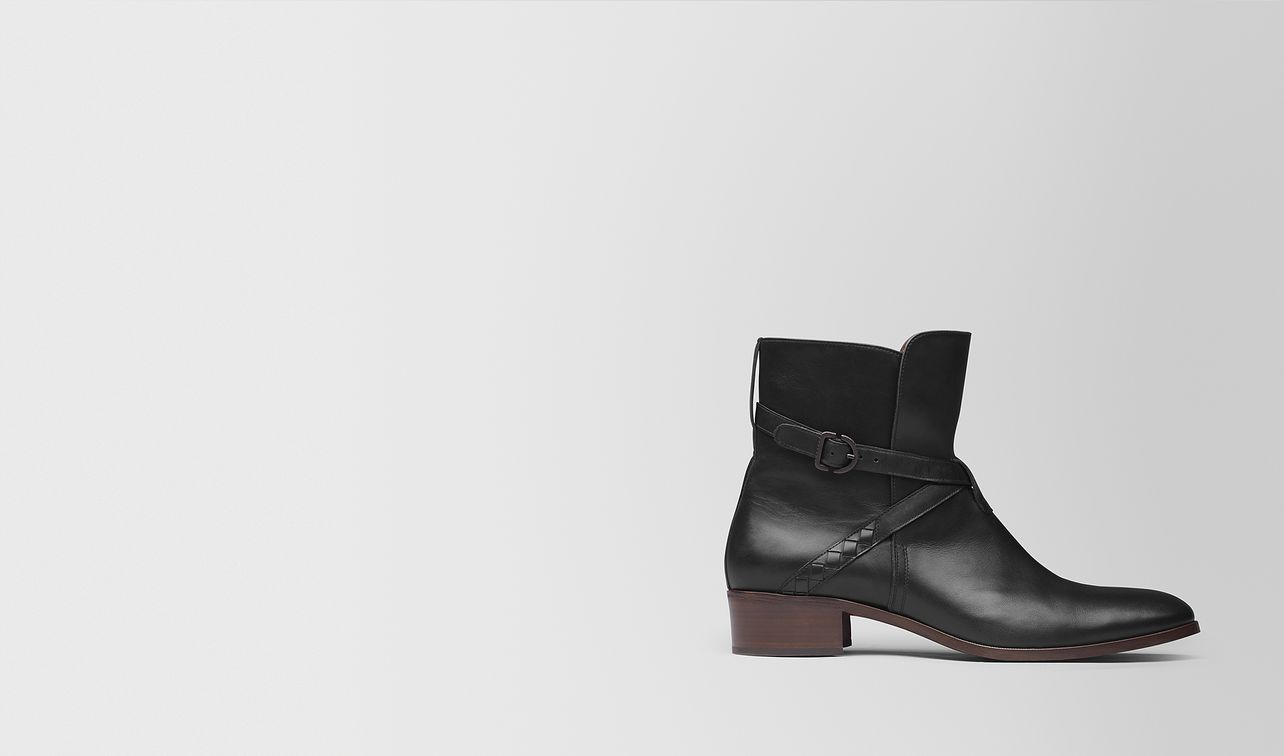 nero calf ankle boot landing