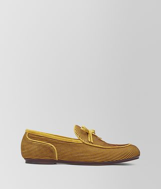 BV TRINITY LOAFER AUS VELOURSLEDER IN DARK CHAMOMILE