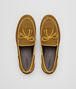 dark chamomile suede bv trinity loafer Back Detail Portrait