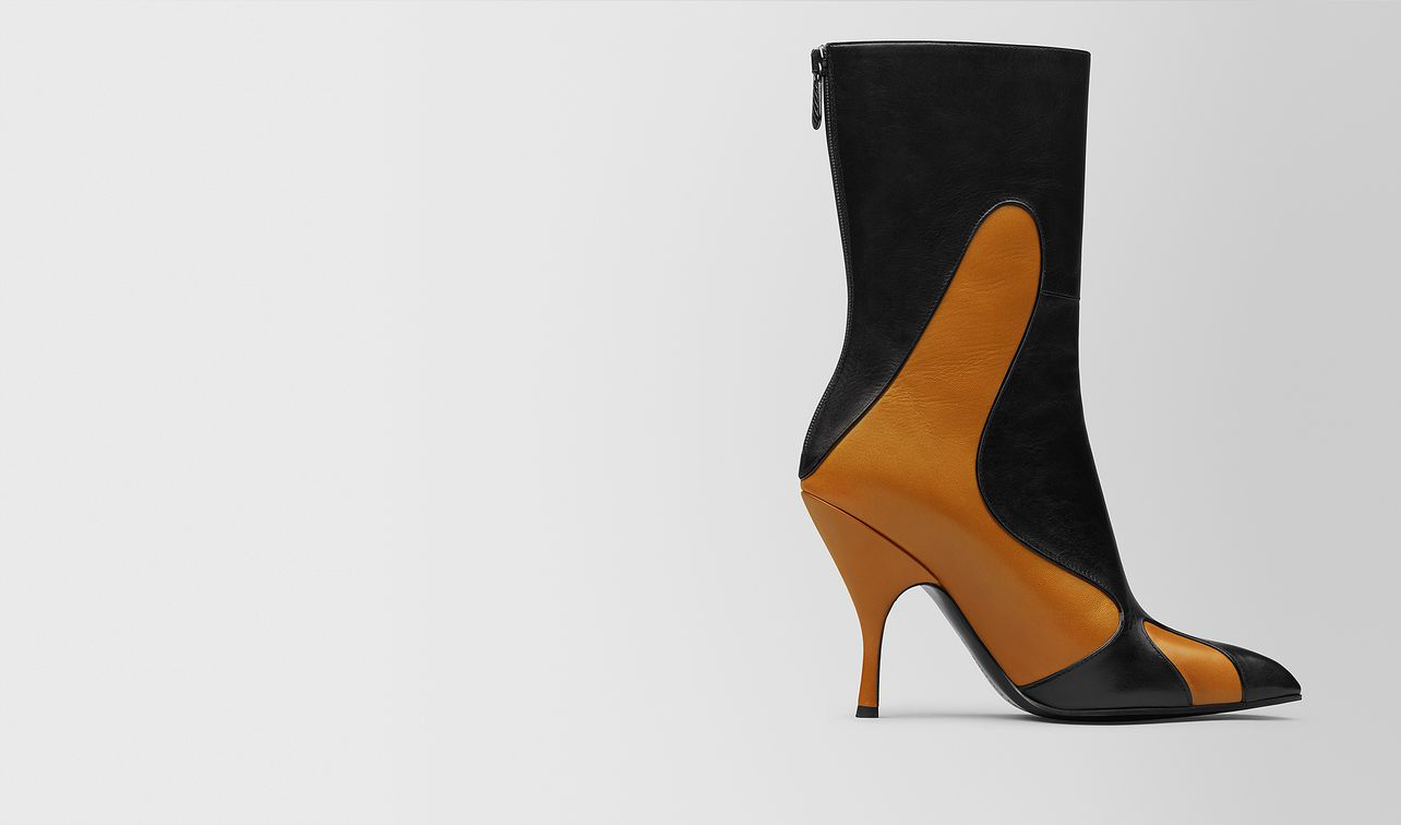 orange/nero kid moodec flame ankle boot landing