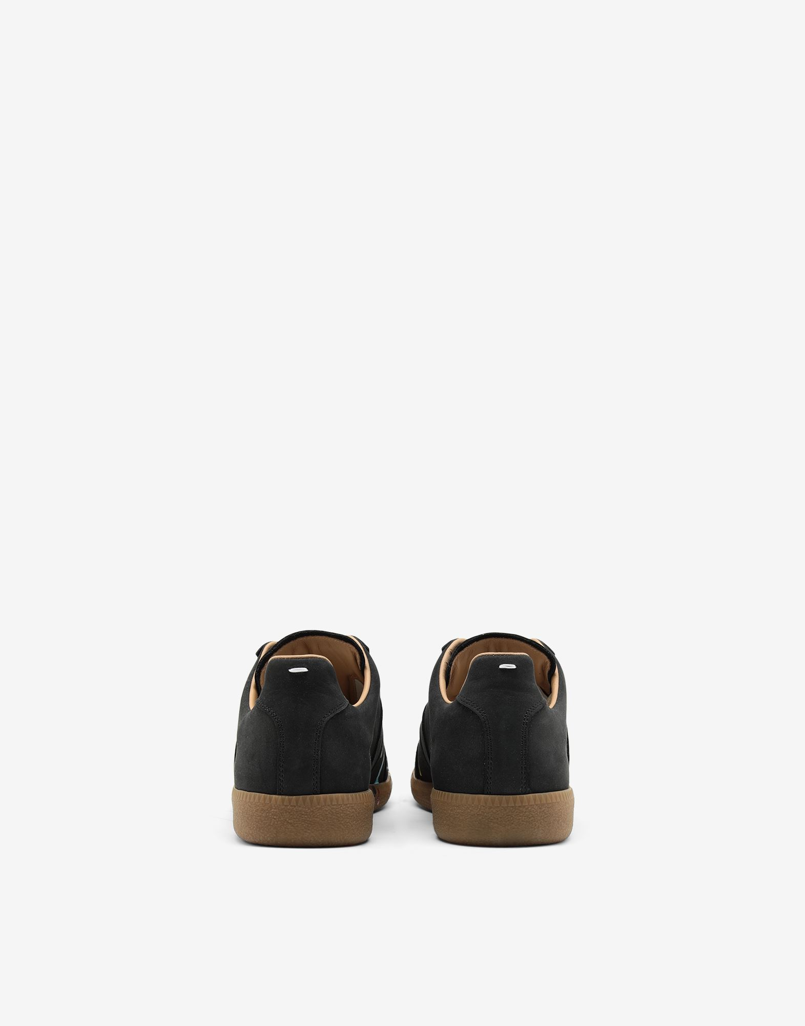 MAISON MARGIELA Suede paint drop 'Replica' sneakers Sneakers Man d