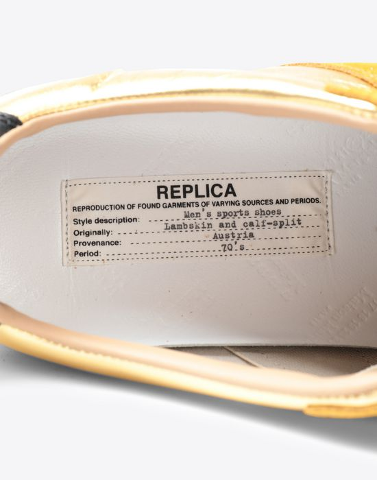 MAISON MARGIELA Embossed Low-top 'Replica' sneakers Sneakers [*** pickupInStoreShippingNotGuaranteed_info ***] a