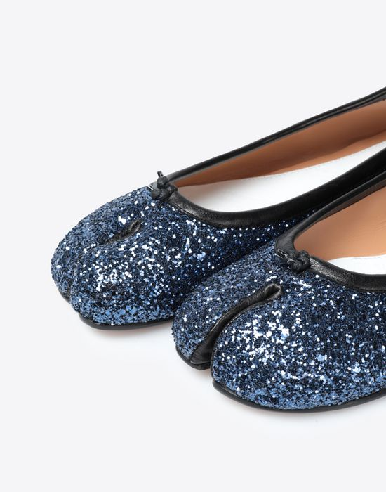 MAISON MARGIELA Glitter Tabi ballerinas Ballet flats [*** pickupInStoreShipping_info ***] e
