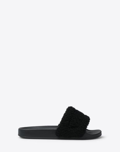 MAISON MARGIELA Sandals Man Future slider leather slip-on f