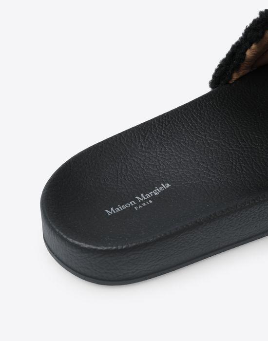 MAISON MARGIELA Future slider leather slip-on Sandals [*** pickupInStoreShippingNotGuaranteed_info ***] a