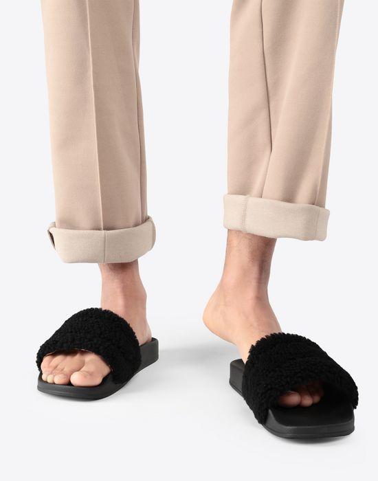 MAISON MARGIELA Future slider leather slip-on Sandals [*** pickupInStoreShippingNotGuaranteed_info ***] b