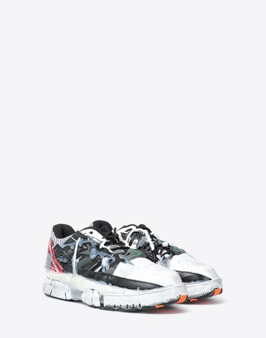 SHOES Low-top fusion sneaker White