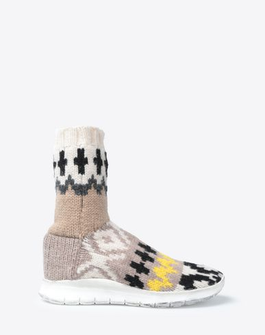 MAISON MARGIELA Sneakers Man High-top wool sock sneaker f