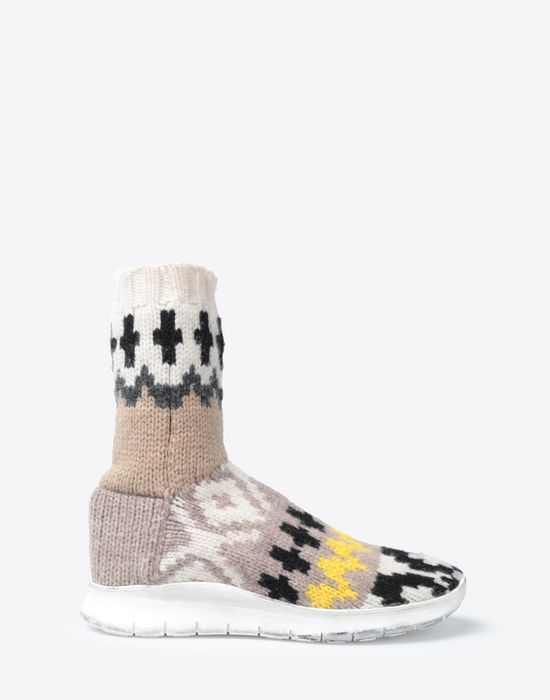 MAISON MARGIELA High-top wool sock sneaker Sneakers [*** pickupInStoreShippingNotGuaranteed_info ***] f