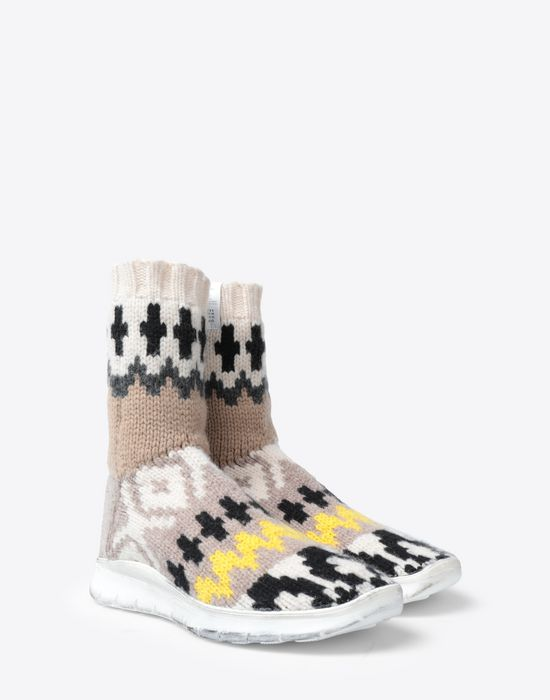 MAISON MARGIELA High-top wool sock sneaker Sneakers [*** pickupInStoreShippingNotGuaranteed_info ***] r
