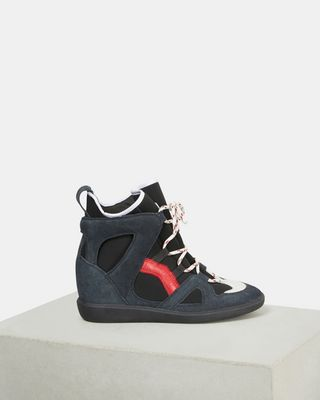 ISABEL MARANT SNEAKERS Woman BRAMY wedge sneakers d
