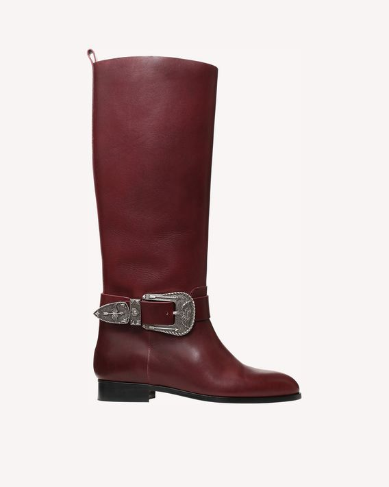 REDValentino BOTTES BUCKLE AND SIGNS
