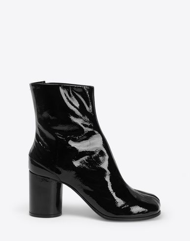MAISON MARGIELA Ankle boots [*** pickupInStoreShipping_info ***] Patent Tabi boots f