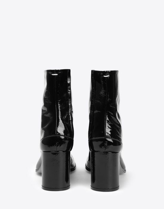 MAISON MARGIELA Patent Tabi boots Ankle boots [*** pickupInStoreShipping_info ***] d